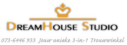 DreamHouse Studio | unieke 3-in-1 Trouwwinkel
